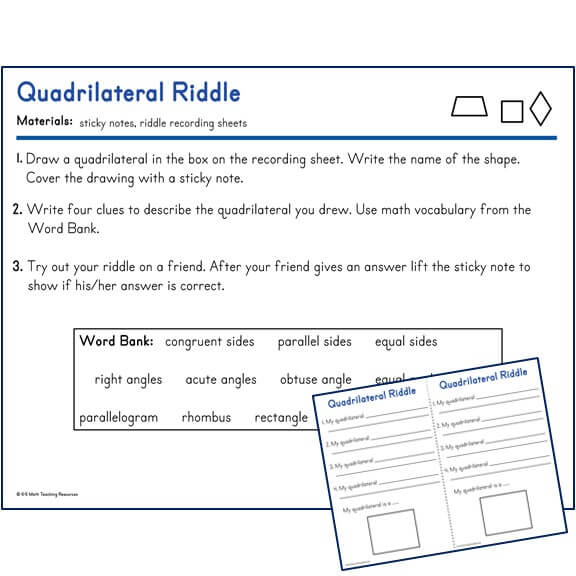 Quadrilateral Riddle