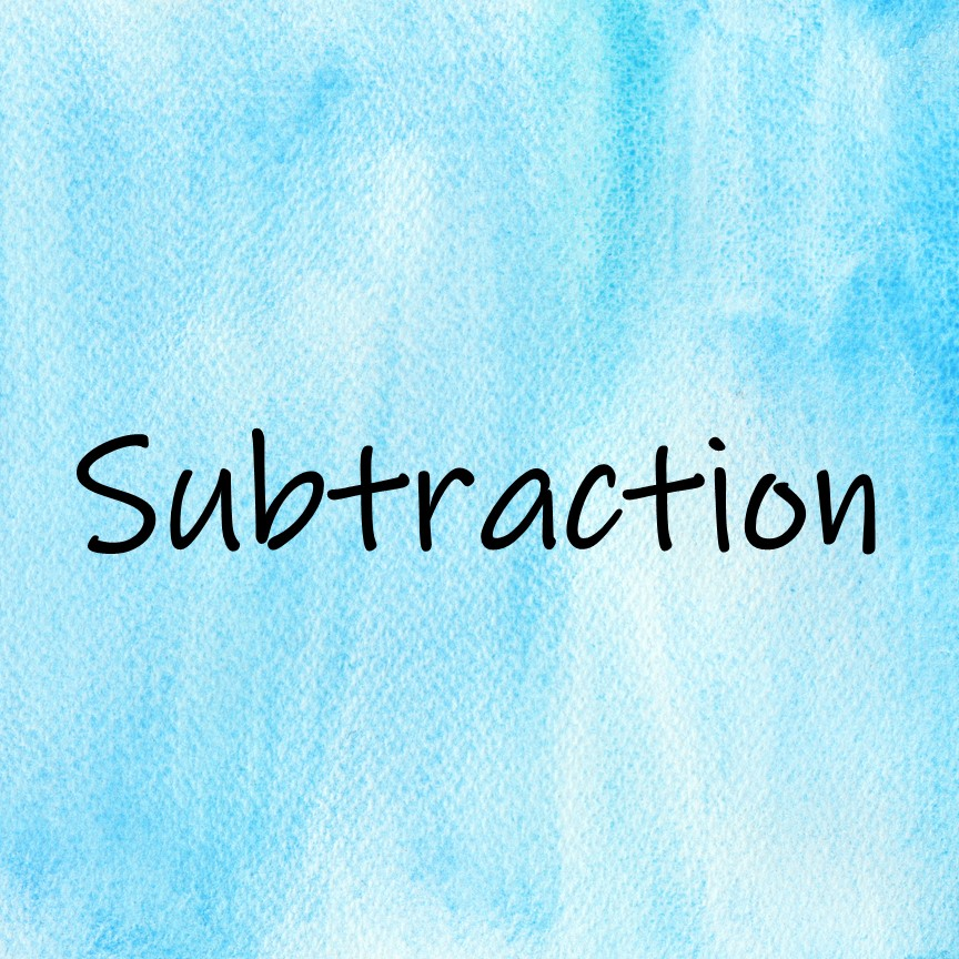 Subtraction Math Read Alouds to introduce or review math content in meaningful contexts