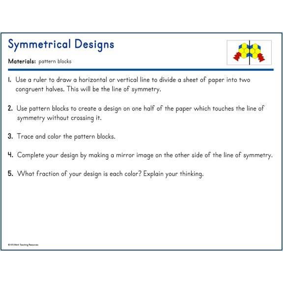 Symmetrical Designs