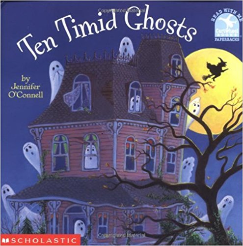 Subtraction Read Aloud: Ten Timid Ghosts