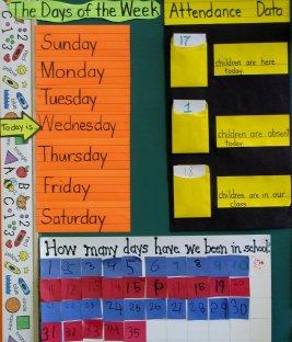 1st Grade Calendar