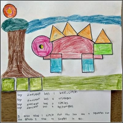 Math Project: Create a Dinosaur