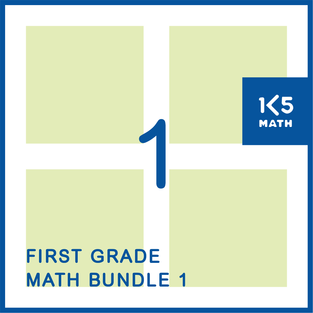 1st Grade Math Bundle: Packed with resources for the 1st Grade classroom