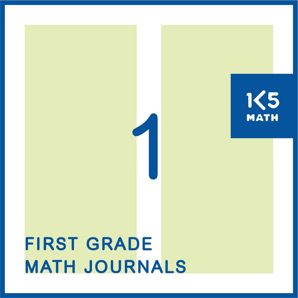 1st Grade Math Journals: Available in English and Spanish