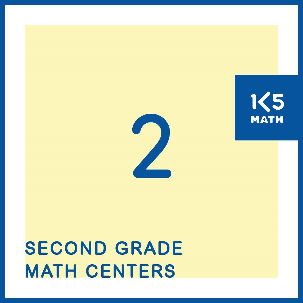 All the 2nd Grade Math Centers you'll need for the entire school year