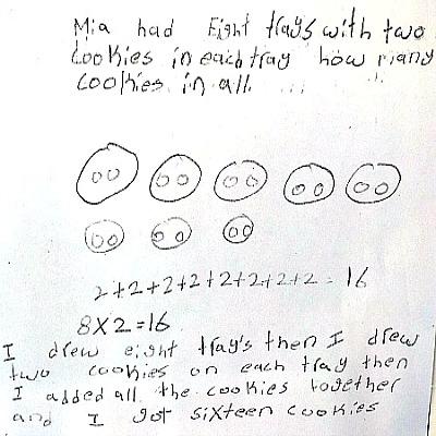 3rd Grade Math Journal Task 7