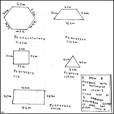 3rd Grade Math Journal Task 81
