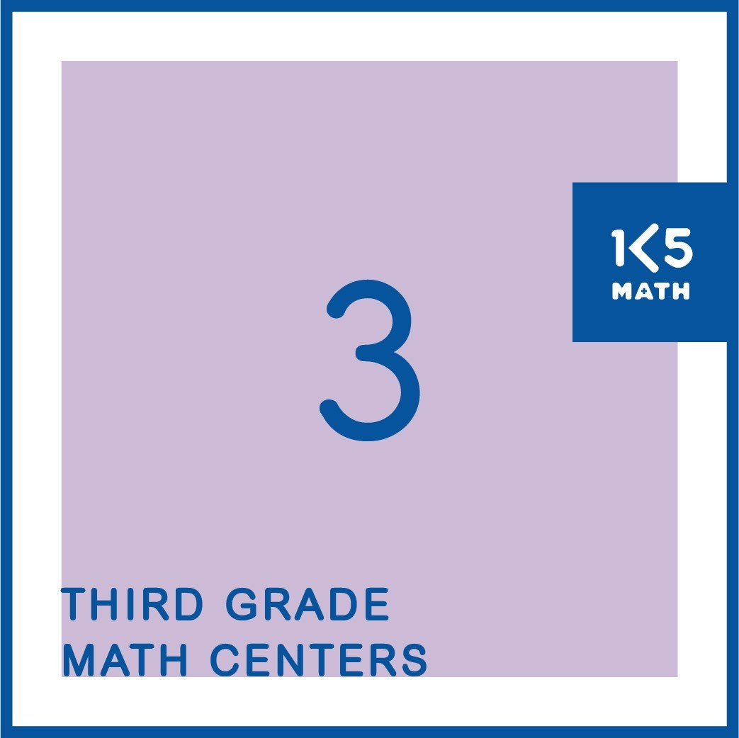 All the 3rd Grade Math Centers you'll need for the entire school year