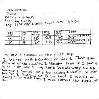 4th Grade Math Journal Task 34