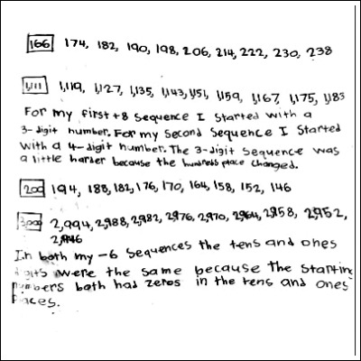 4th Grade Math Journal Task 35