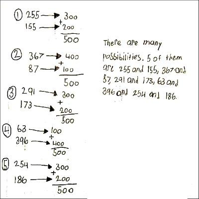 4th Grade Math Journal Task 43