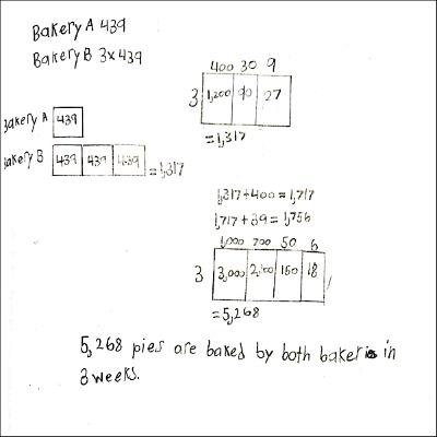 4th Grade Math Journal Task 7