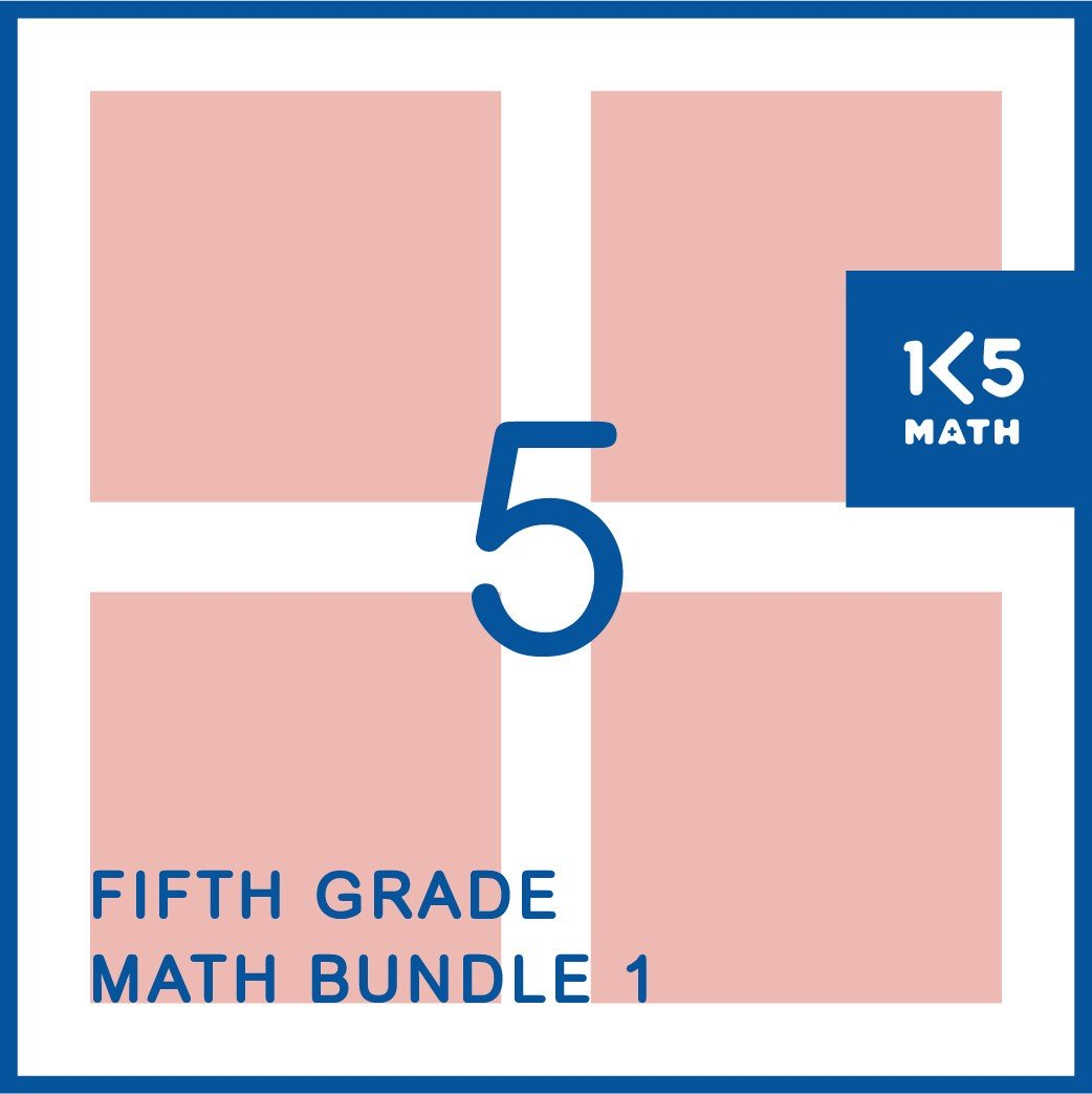5th Grade Math Bundle: Packed with resources for the 5th Grade classroom