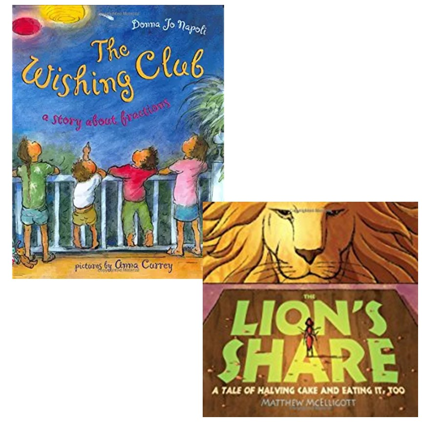 Fraction Read Alouds: Use math literature to develop fraction skills and understandings