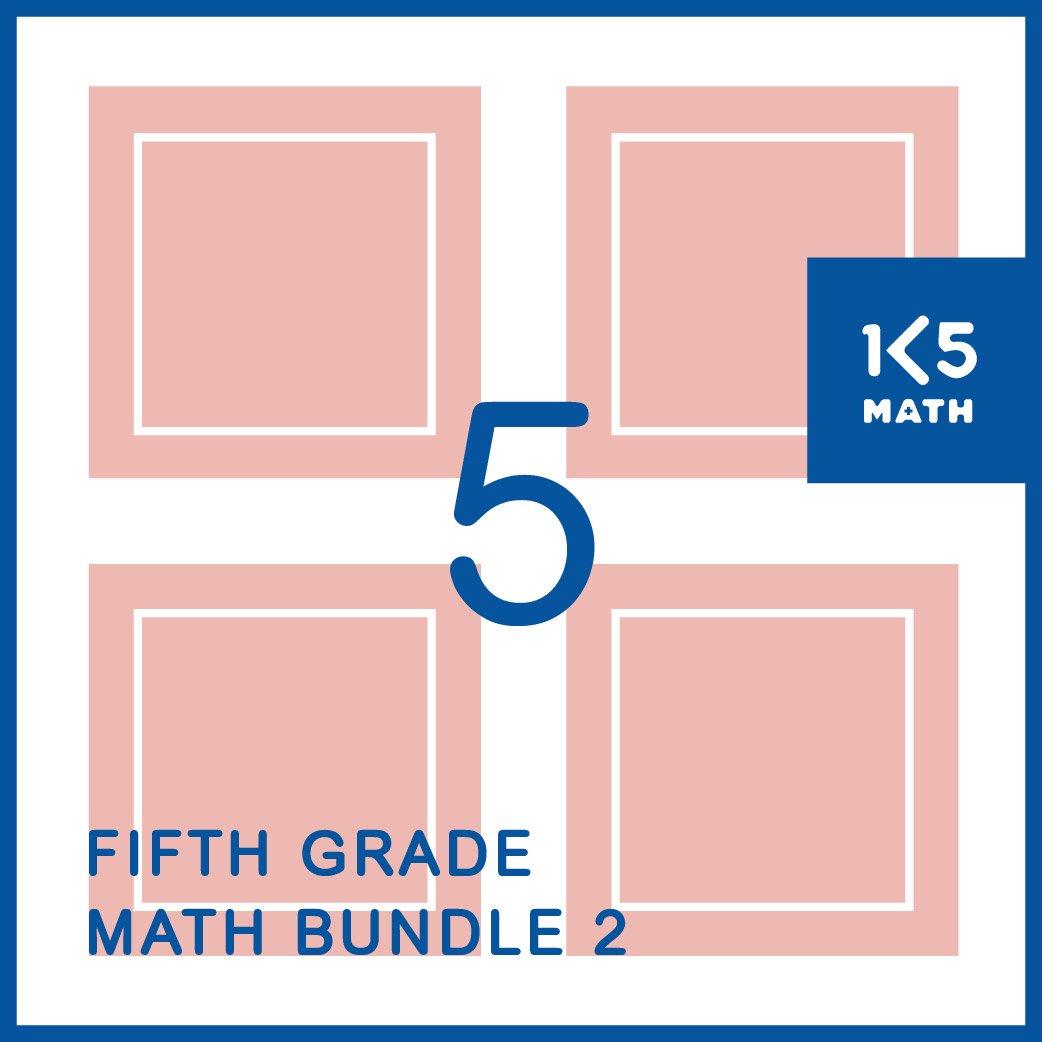 5th Grade Math Bundle 2