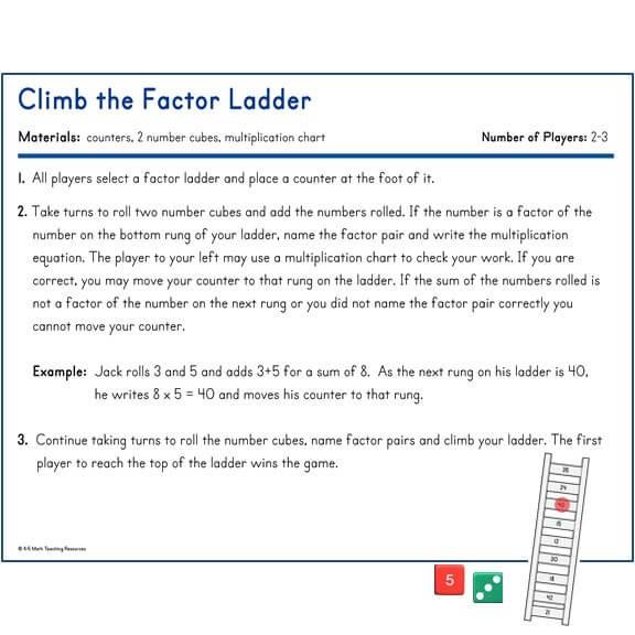 Climb the Factor Ladder