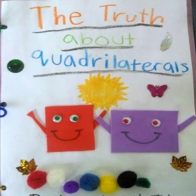 Math Project: Create a Math Story Book