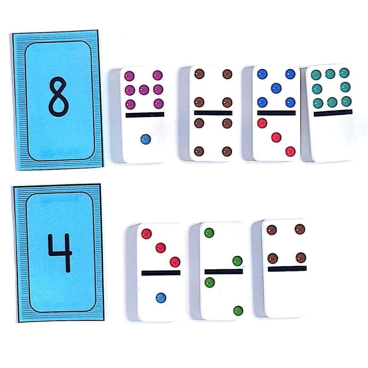 K.OA.A.3  Domino Addition