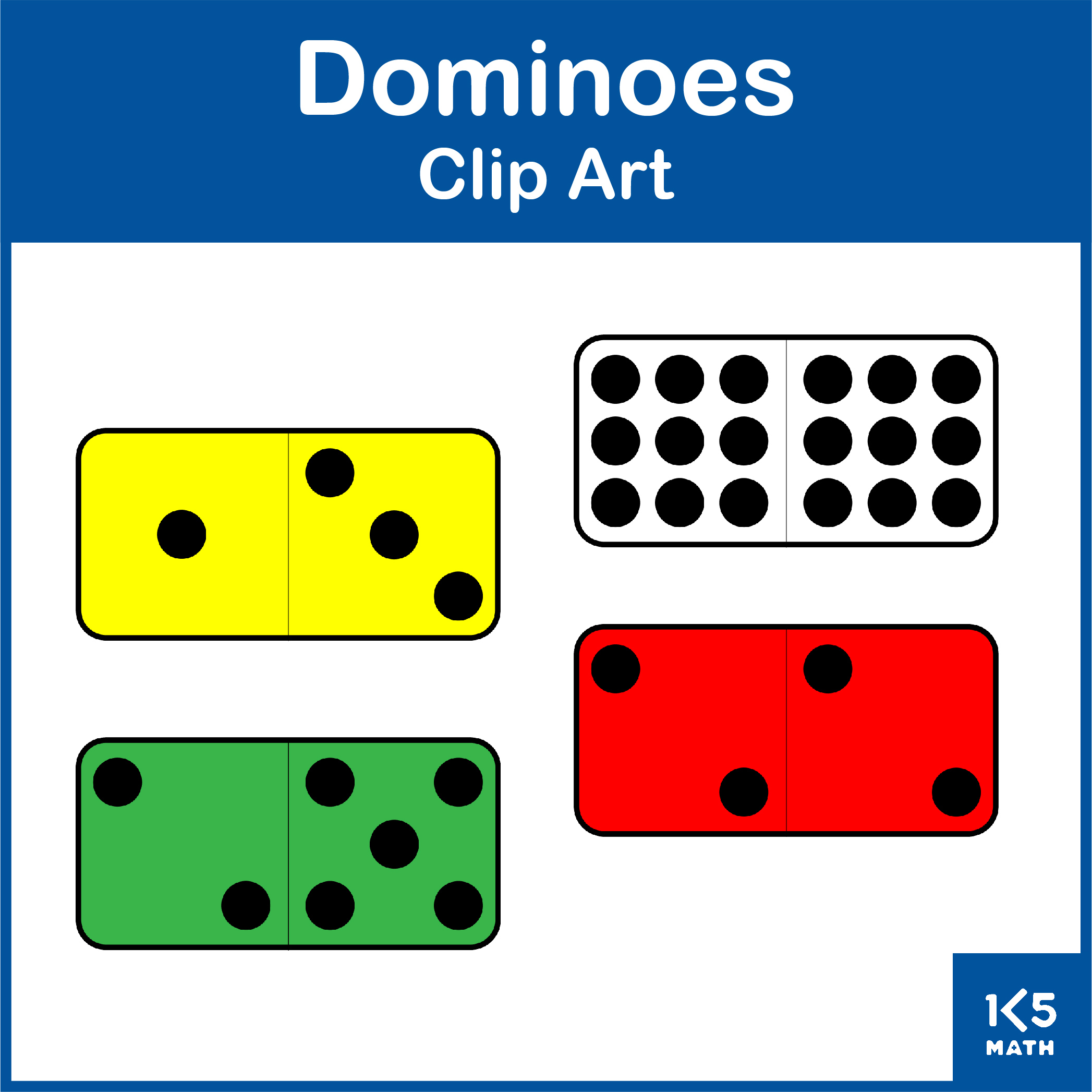 Dominoes Clip Art