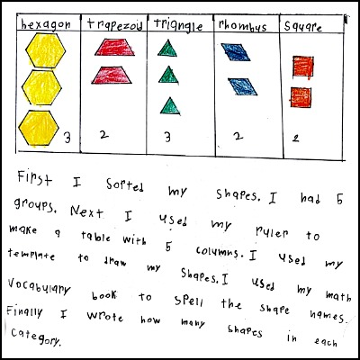 1st Grade Math Journal Task 69