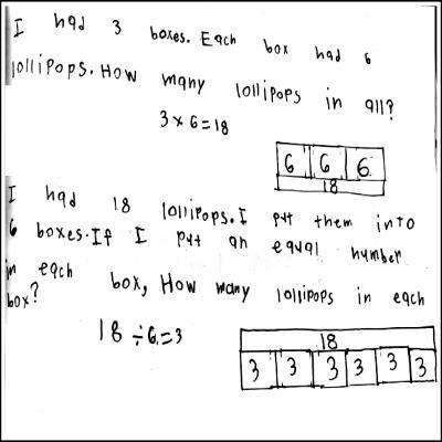 3rd Grade Math Journal Task 1