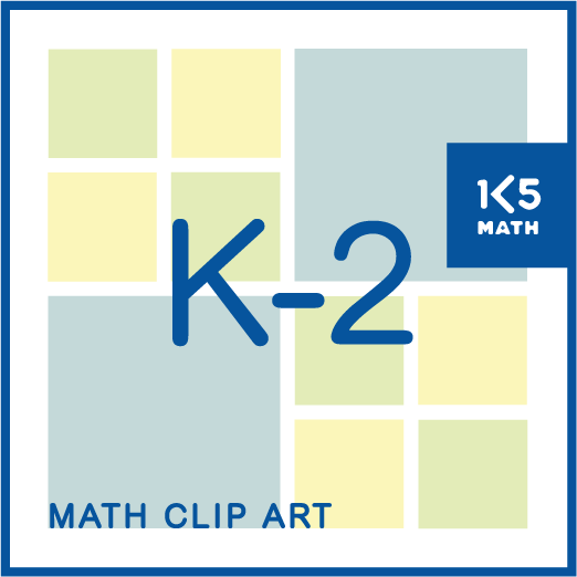 Over 1500 images of K-2 math manipulatives for your digital files.
