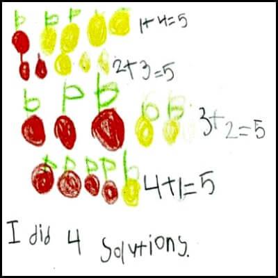 Kindergarten Math Journal Task 37