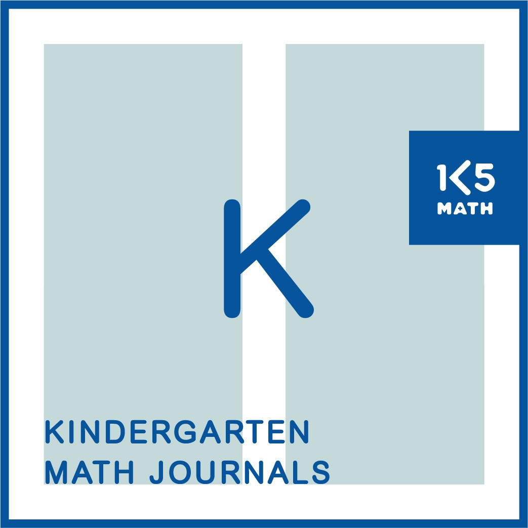 Kindergarten Math Journals: Available in English and Spanish