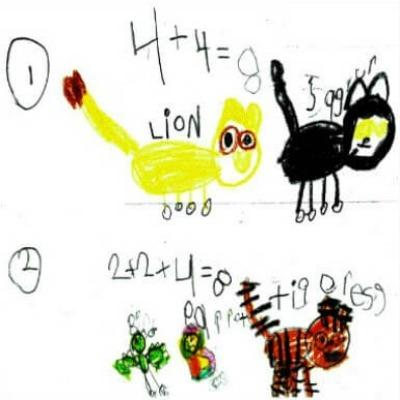 Kindergarten Math Journal Task 23