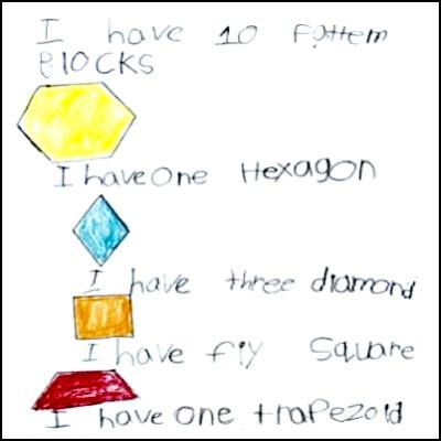 Kindergarten Math Journal Task 6