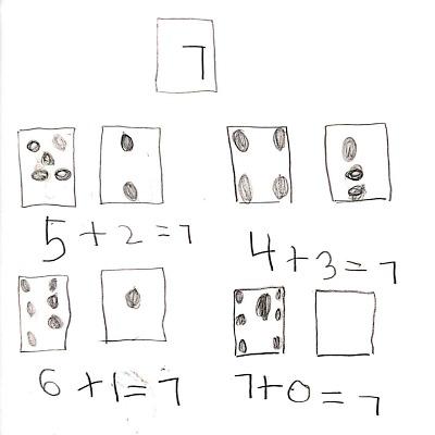 Kindergarten Math Journal Task 77