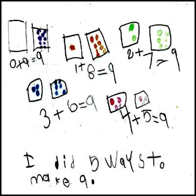 Kindergarten Math Journal Task 79
