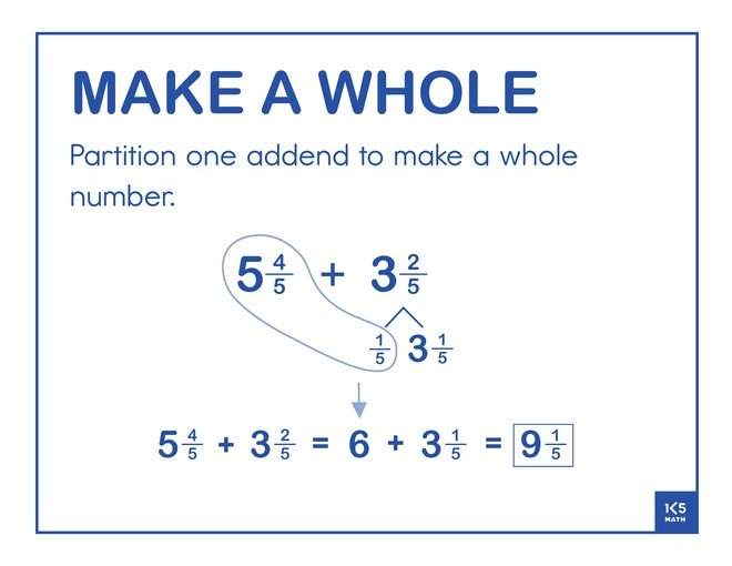 Make a Whole Fractions