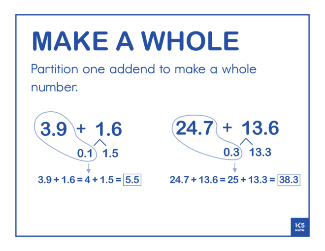 Make a Whole Decimals