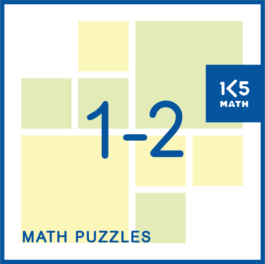 Math Puzzles for Grades 1-2