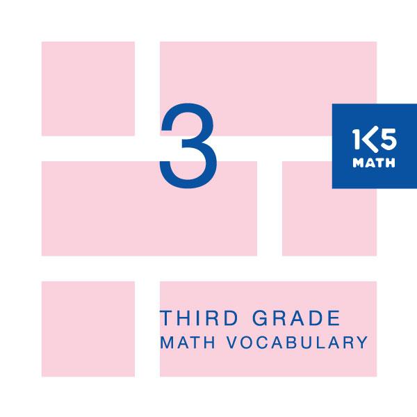 3rd grade math vocabulary pdf