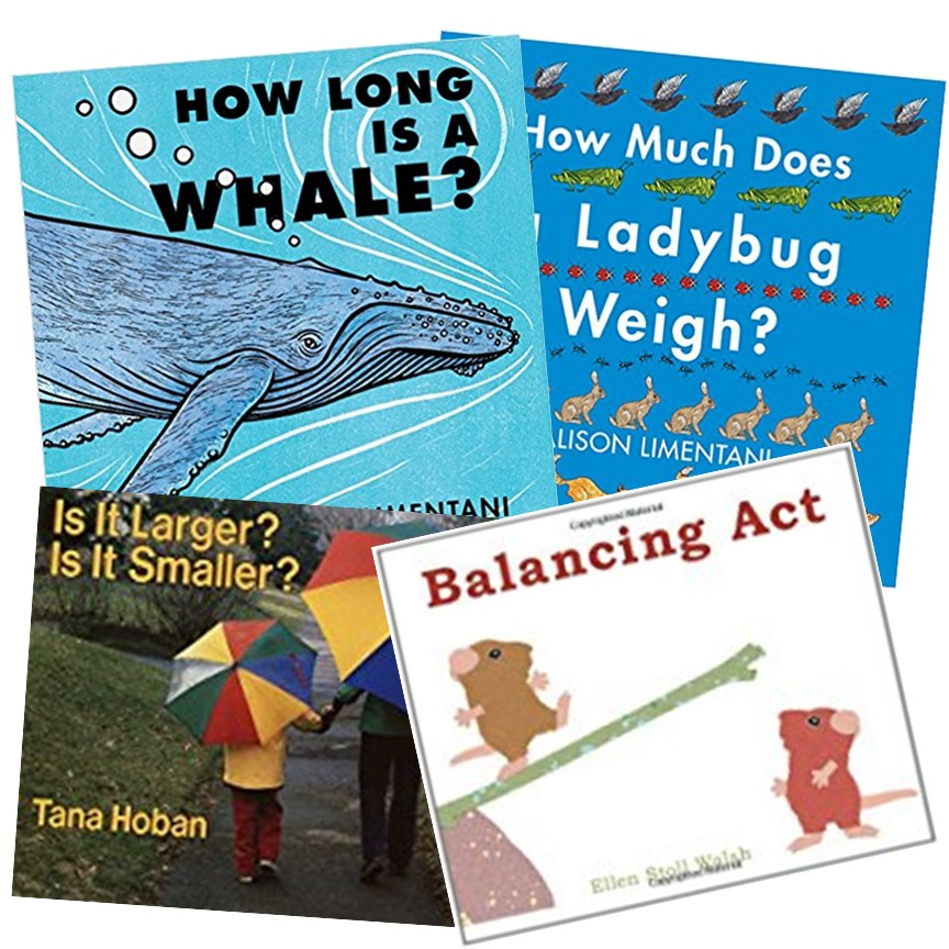 Picture books with a measurement theme