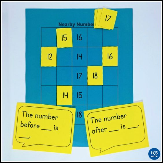 K.CC.A.2 - Nearby Numbers Game