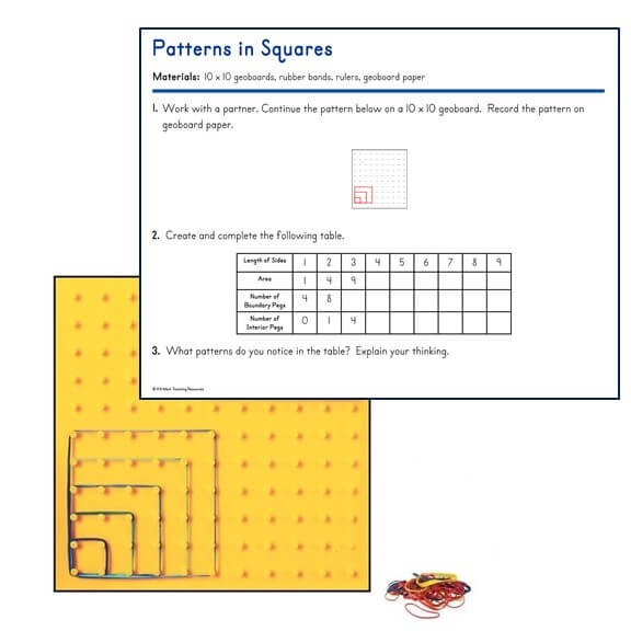 4.OA.C.5 Patterns in Squares