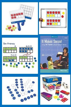 Ten Frames And Dot Cards
