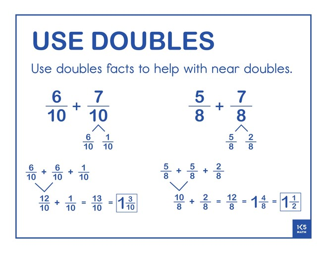 Use Doubles Fractions