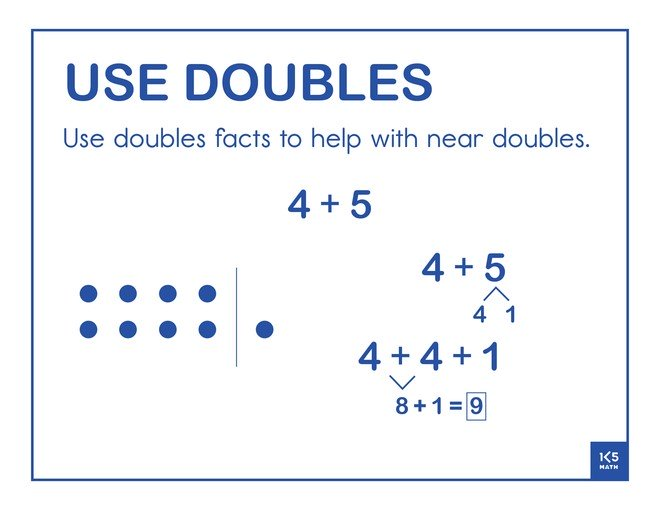 Use Doubles 4+5