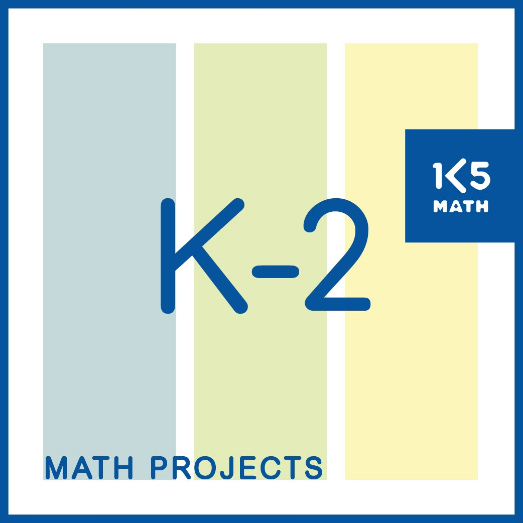 K-2 Math Projects contains 34 standards based take home projects