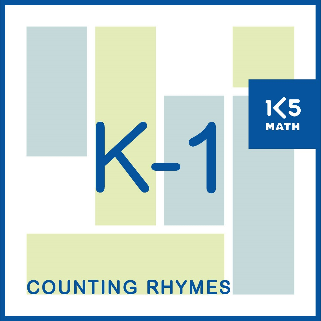 Counting Rhyme provide opportunities to practice counting forwards and backwards, numeral recognition, using ordinal numbers, addition and subtraction.