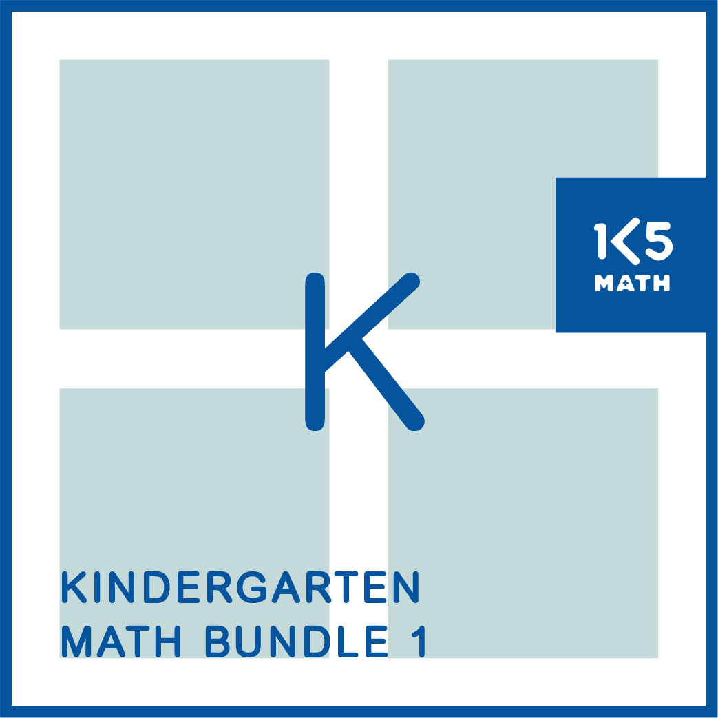Kindergarten Math Bundle: Packed with math resources for the K classroom