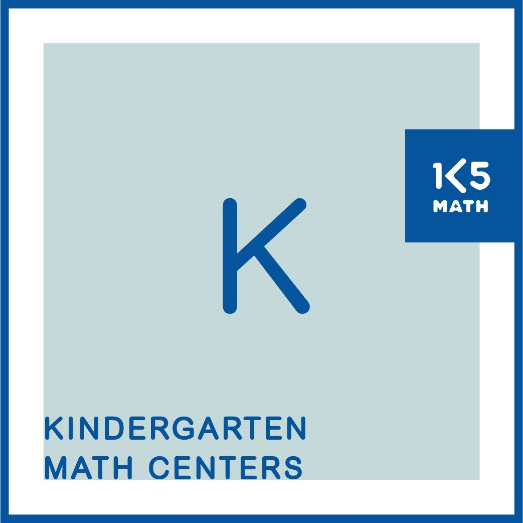 All the Kindergarten Math Centers you'll need for the entire year